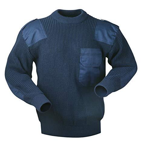 Arbeits Strickpullover Bundeswehr Troyer Pullover Arbeitspullover Gr. S-XXXL (L)