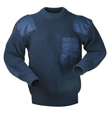 Arbeits Strickpullover Bundeswehr Troyer Pullover Arbeitspullover Gr. S-XXXL (M)