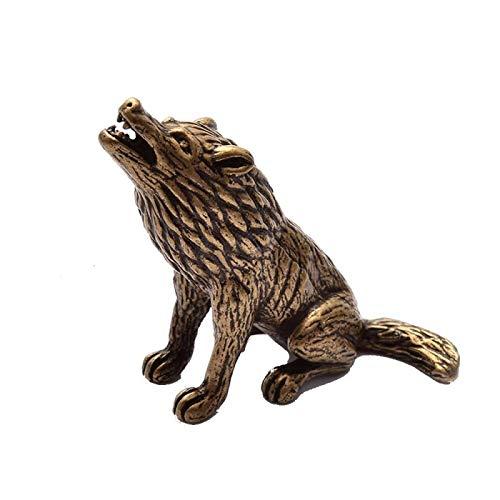 escultura lobo de la marca JUZZQ