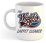 Los mundos mejor limpiador de alfombras en Taza, 11 oz Cerámica...