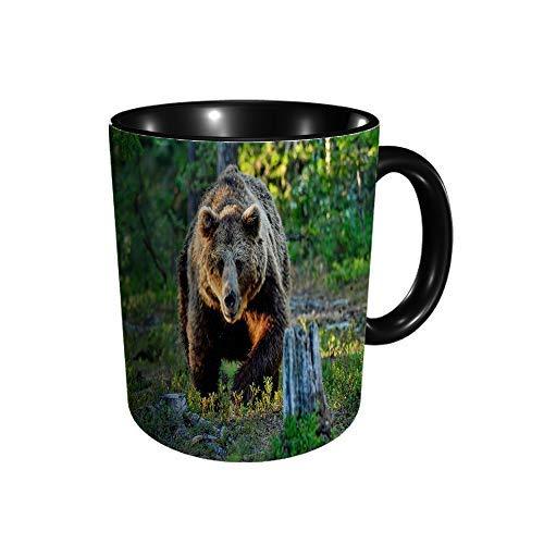 Hdadwy Braunbär Keramikbecher Kaffee Tee Geschenk Geschenk Weihnachten Weihnachten 11oz