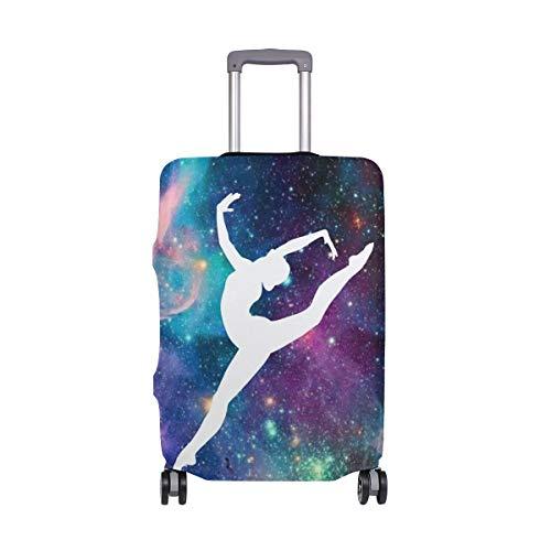 FANTAZIO - Funda protectora para maleta de la manera láctea de gimnasia