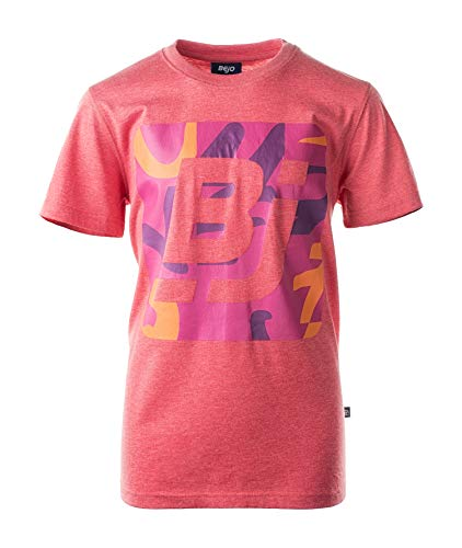 BEJO Mädchen Logo BJ JR T-Shirt, Coral, 158