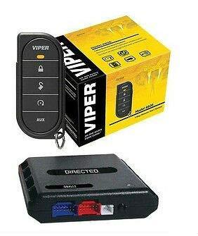 Viper 4606V 1 Way Car Truck Remote Start System + Bypass Module Interface Bundle (Renewed)