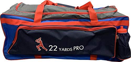 ND Sports Kash-22YardsPro Elite Wheelie Cricket-Tasche, Mehrfarbig, Einheitsgröße