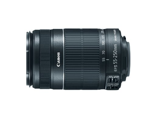 Canon EF-S 55-250mm f/4.0-5.6 IS II Telephoto Zoom...