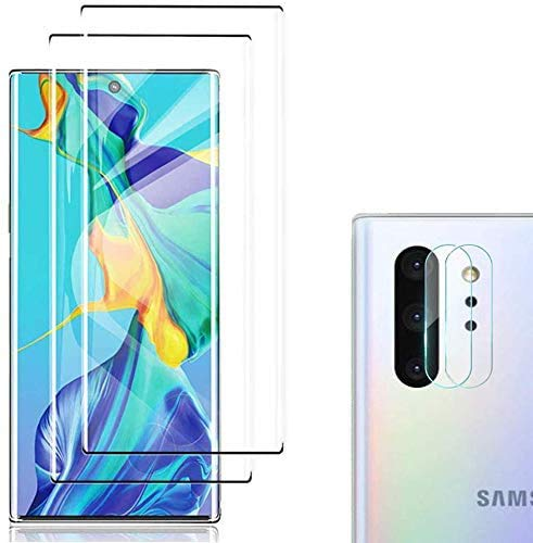 [4 Pack] Galaxy Note 10 Screen Protector...