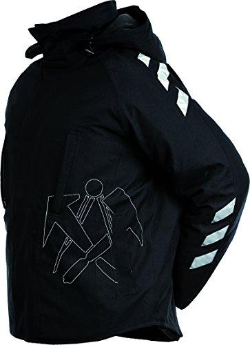 JOB-Tex Winter-Jacke BREMEN m. Dachdecker-Emblem Winterjacke Outdoor Jacke 2007 (M)