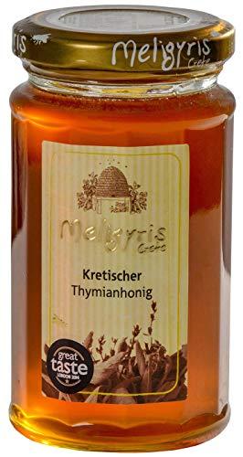 Griechischer Honig aus kretischem Thymian von Meligyris | Reiner unvermischter kretischer Honig (300)