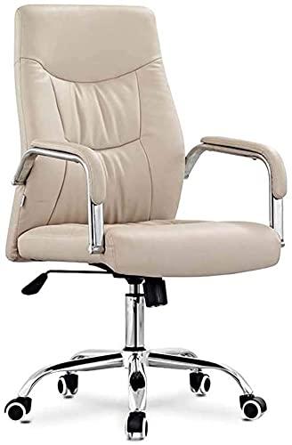 MUZIDP Gaming-Computer Ergonomischer Stuhl, PU-Leder-Büro-Schwenkstühle einstellbare Sitzhöhe mit Armlehne für Erwachsene und Kinder