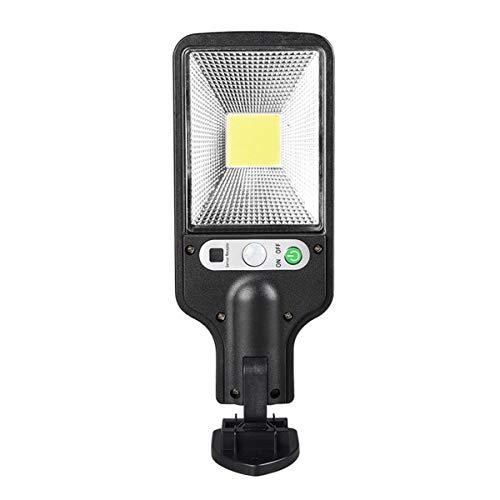 PANYUE Luz de Pared con Sensor Solar Luz con Sensor de Movimiento Led Luz de Calle con Sensor de Inducción Humana Impermeable Al Aire Libre para Patio Escalera Pared Exterior Pasillo