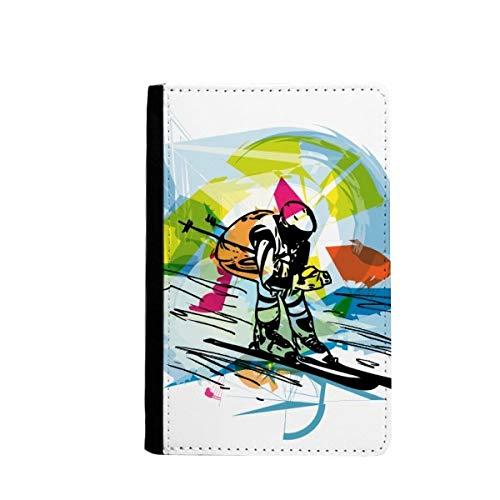 beatChong Deporte De Invierno El Esquí Freestyle Ilustración Bolso De Viaje con...