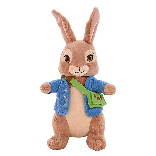 Wjfijz Peluche Peter Rabbit Plush Bunny Peluches Plushie Lily The Short-Tailed Rabbit Doll para bebs nios...