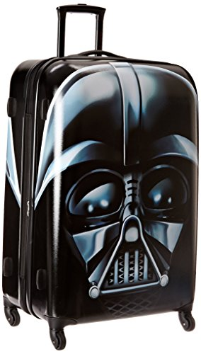 American Tourister Star Wars Hardside Luggage with Spinner Wheels, Darth Vader, Checked-Large 28-Inch