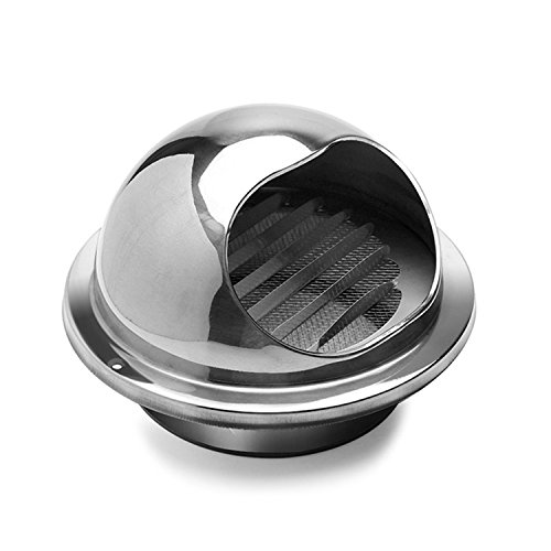 Hon&Guan Stainless Steel Round BullnoseWall Vent Outlet