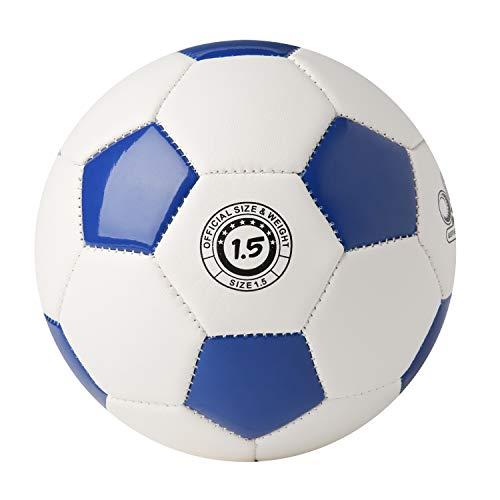 YANYODO Mini-Fußball für Kinder Kleinkind, Kleiner Ball Größe 1,5 Für O-6 Jahre alt