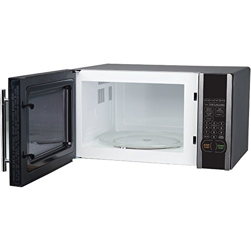 MAGIC CHEF MCM1110ST 1.1 Cubic-ft, 1,000-Watt Microwave with Digital Touch (Stainless Steel) - ONE YEAR Warranty