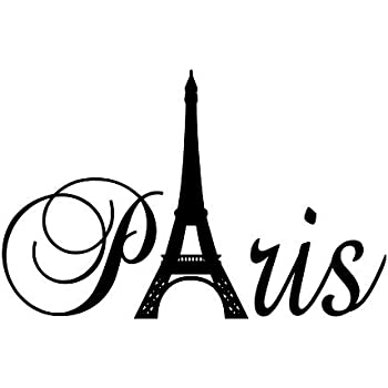 Wall Stickers Decal Removable Wall Stickers Paris Tower Art Decor Wall Decals Quote