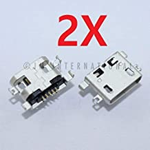 ePartSolution-2X Alcatel One Touch POP 7 P310A USB Charger Charging Port Dock Connector USB Port Repair Part USA Seller