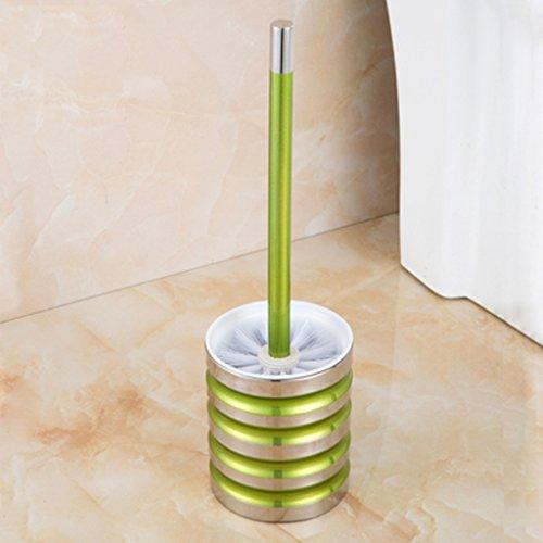 304 En Acier Inoxydable Brosse De Toilette Couleur Créative Salle De Bains Brosse De Toilette Ensemble Toilette Brosse À Cheveux Doux Tête XXPP