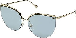 فيراغامو نظارة شمسية عين القطة للنساء - ازرق , SF195S-715-64