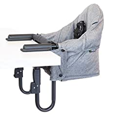 "Comfort The perch's high-back design provides comfort and support especially when a child is leaning backwards. Versatility The Perch clamps open from 0.6"" To 3.75"" To accommodate a variety of table thicknesses. And can accommodate tables with a tabl..."