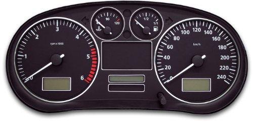 Tachodekorset Chrom für Seat Leon 1M (1999 - 2005)
