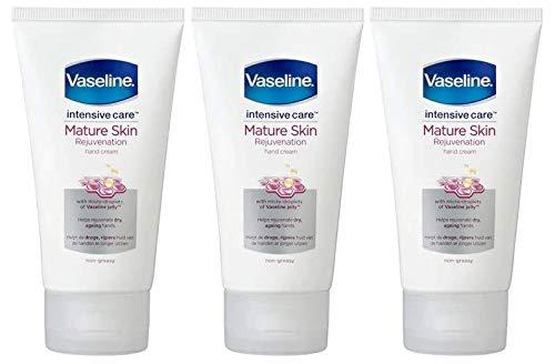 Vaseline Intensive Care Handcreme für reife Haut, 75 ml, 3 Stück