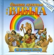 GRANDES AVENTURAS DE LA BIBLIA con un CD- Historia de la Biblia Libros para niños- Niños Historias bíblicas-Biblia ilustra...