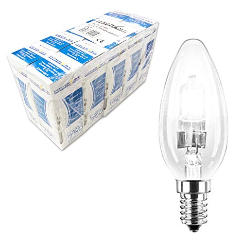 LED Bulb Candle 5W 400 Lumens Non Dimmable B22 Bayonet Cap Warm White 35W Equiv