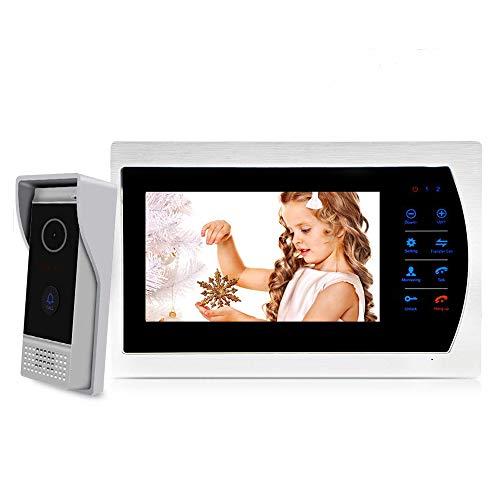 """tablette//smartphone App! IP HD 720p réseau-vidéo-türsprechanlage avec 10/"""" LCD"""
