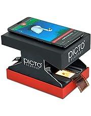 PictoScanner   Escáner de negativos y diapositivos 35 mm   Convierte tus negativos (N&B y color) y diapositivas en fotos digitales   Utiliza solo tu smartphone – No requiere ordenador