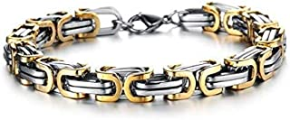 PH-711-G High Polished Masculine Style Stainless Bracelet Link for Men