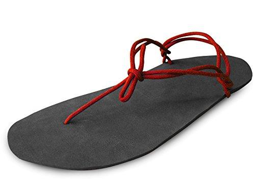 Set aus minimalistischen Sandalen (Huaraches)