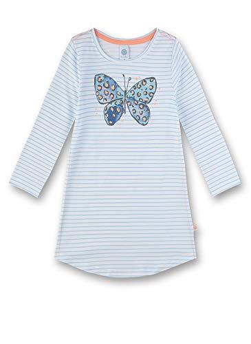 Sanetta Mädchen Sleepshirt Nachthemd, Blau (blau 5632), (Herstellergröße:140)