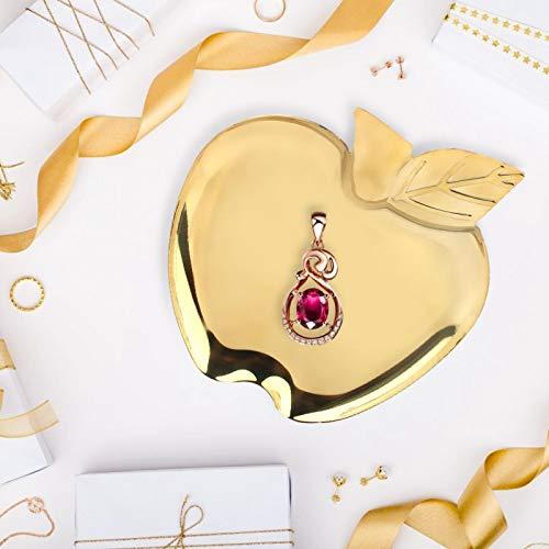 Espejo de acero inoxidable dorado, bandeja de comida para pulir, bandeja de exhibición de productos básicos para joyería
