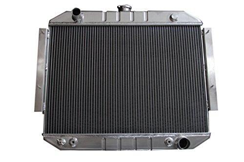 KKS889 3 Rows Aluminum Radiator Fit 1971-1978 Dodge D200 D300 W200 W300 Pickup CB300 V8