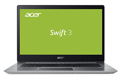 Acer Swift 3 (SF314-52G-89SL) 35,6 cm (14 Zoll Full-HD IPS) Ultrabook (Intel Core i7-8550U, 8 GB RAM, 512 GB PCIe SSD, NVIDIA GeForce MX150 (2 GB VRAM), Win 10) silber