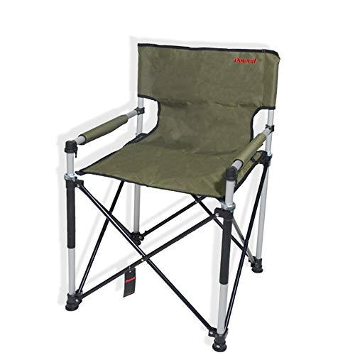 LifeX Cookouts Extérieur en Alliage D'aluminium Fauteuil avec Rampe en Coton Plage Pliant Chaise Dossier Portable Camping Voyage De Pêche Slacker Banc Pliable Chaise