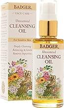 Badger Unscented Face Cleansing Oil - 2 oz