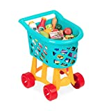 Battat Grocery Cart – Deluxe Toy Shopping Cart with Pretend Play Food...