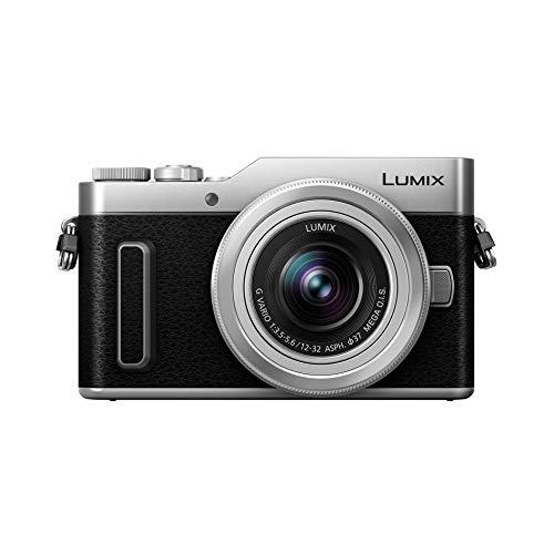 Panasonic Lumix GX880K | Cámara de Fotos híbrida compacta + Lente Lumix 12-32mm (Sensor 4/3 16MP, Pantalla Inclinada, AF DFD, vídeo 4K, Modos Selfies creativos, WiFi) Silver - Versión Francesa