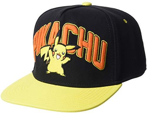 Casquette 'Pokémon' : Pikachu - snap back - noir