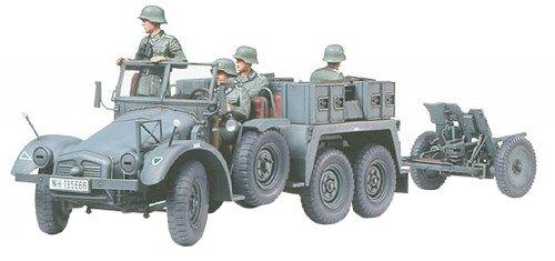 Tamiya 300035259-1:35 WWII Duitse kruipkoker met PAK (4) 37 mm