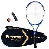 Senston Raqueta de Tenis 19/23/25,One-Piece-Desgin Raqueta Tenis, Incluido 1 Bolsa de Tenis / 1 Grip / 1 Amortiguadores