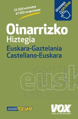 Oinarrizko Hiztegia Euskara-Gaztelania / Castellano-Euskara (Hiztegia Euskaraz)