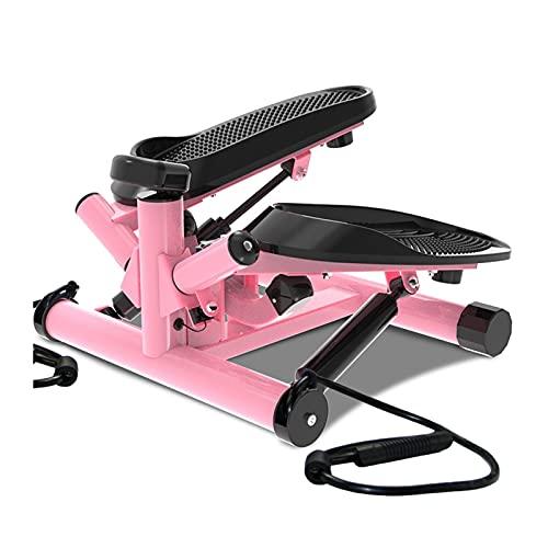 HKJZ SFLRW Bajo la Mesa elíptica - Máquina de Pedal de Bicicleta con Resistencia magnética para un Movimiento silencioso y Fluido: tensión Ajustable con medidor de Rendimiento Digital (Color : B)