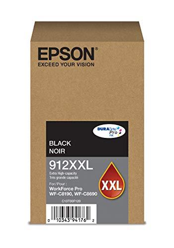 Epson DURABrite Pro T912XXL120 Ink Cartridge - Extra High Capacity Black