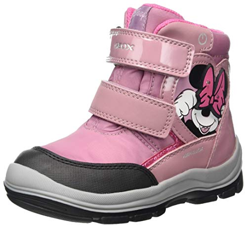 Geox B Flanfil Girl B ABX Snow Boot, Rose, 27 EU