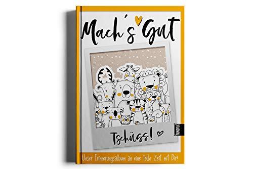 Das große Freundebuch zum Abschied - Arbeitskollegen, Vereinsmitglieder, Bekannte als Abschiedsgeschenk Austritt aus der Firma oder Jobwechsel-RUNDFUX
